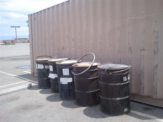Bryant GeoEnviromental Oil Drums